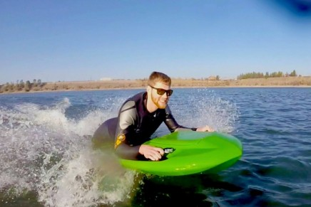 Seeking for aquatic thrills with the Electric Jet Body Board