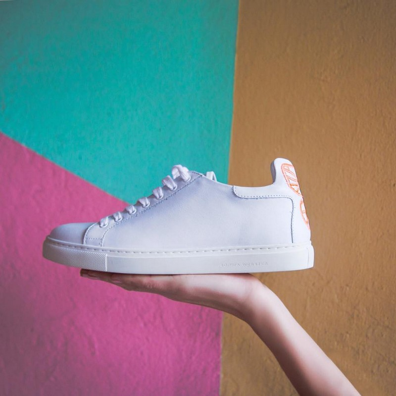 Elevate your sneaker status and get your hands on Sophia Webster's 'Bibi' low tops.