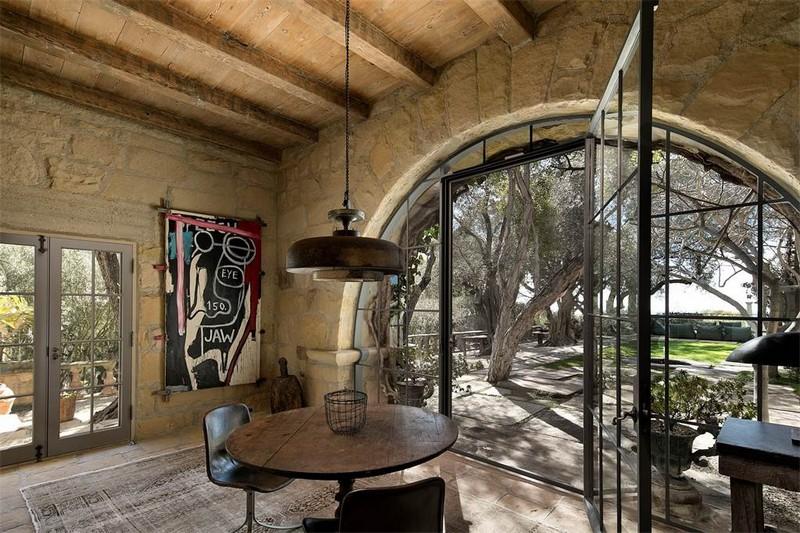 Ellen DeGeneres' villa in the hills of Santa Barbara listed for 45 m-