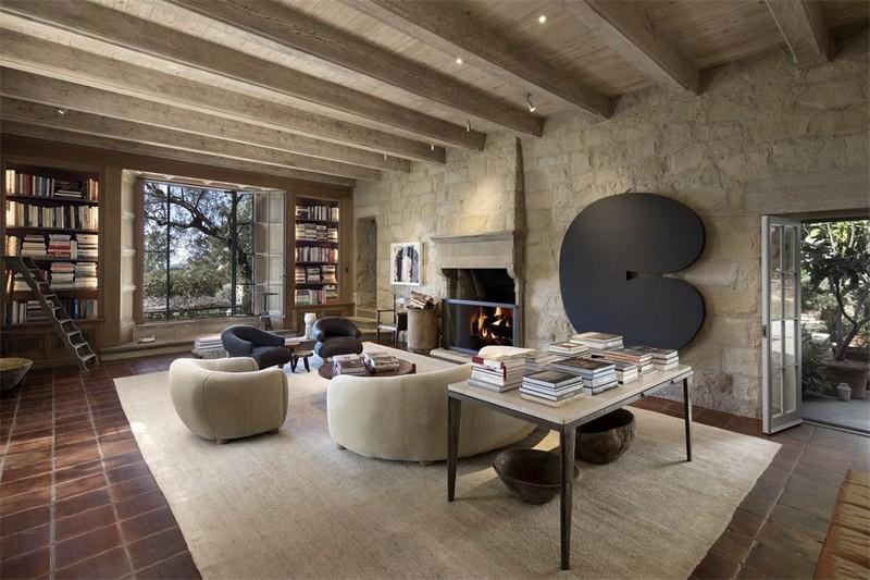 Ellen DeGeneres' villa in the hills of Santa Barbara listed for 45m--