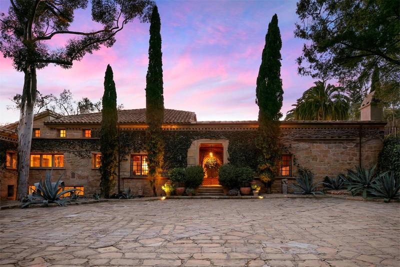 Ellen DeGeneres villa in the hills of Santa Barbara was designed and built in the 1930s-