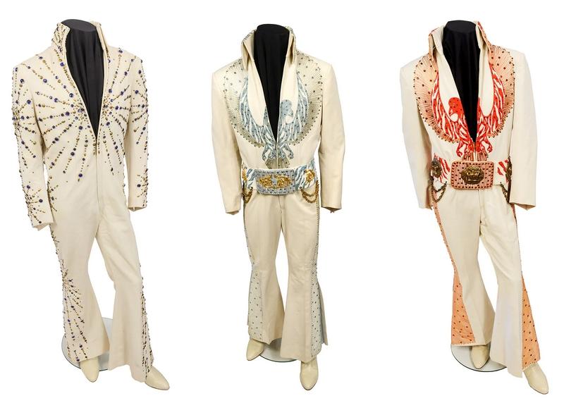 Elvis on tour jumpsuits