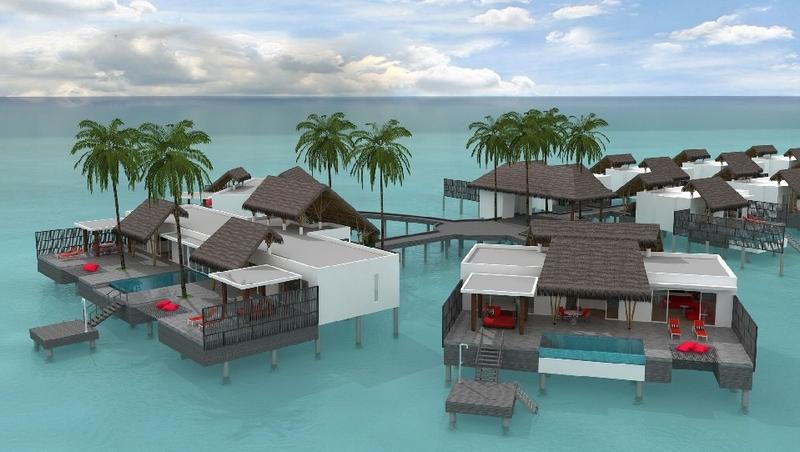 Emerald Maldives Resort & Spa - Raa Atoll, Maldives -plans