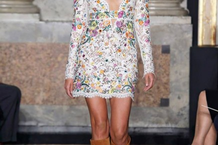 Showered in the optimism of the next summer: Emilio Pucci Spring Summer 2015 Fashion Show
