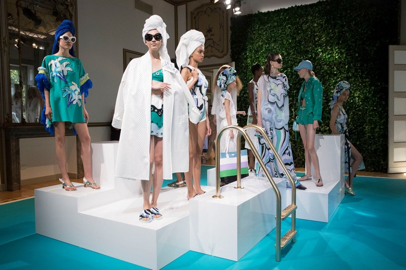 Emilio Pucci Spring Summer 2018 Collection--