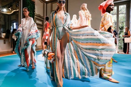 Pucci SS2018 it's a pool party, come as you are! Glamour as fun, and fun as easiness