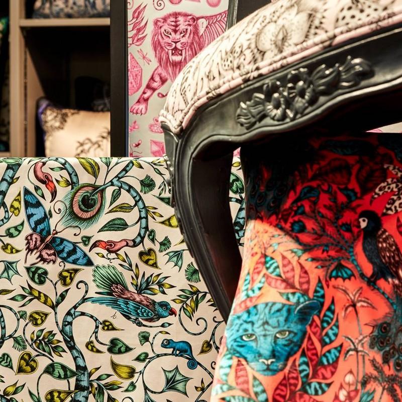 Emma J Shipley's furniture at Harrods 2018