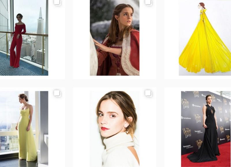 Emma Watson Instagram Account For eco-friendly fashion looks
