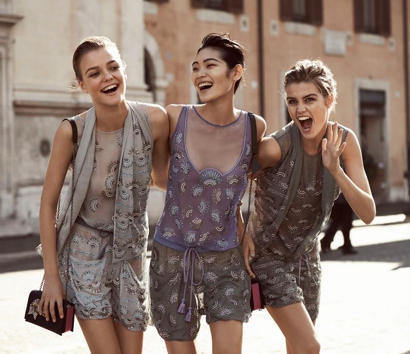 Emporio Armani Spring Summer 2017 ad campaign