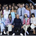 Emporio Armani Spring Summer 2018 Show at London Fashion Week