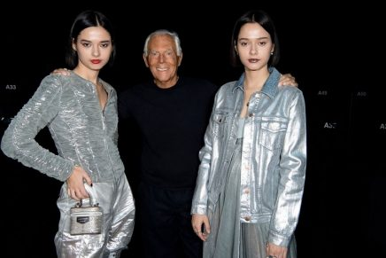Giorgio Armani criticised for comparing fashion trends to rape