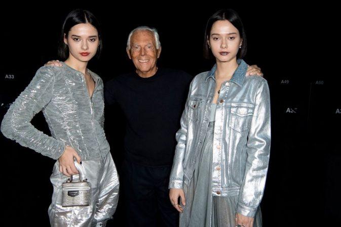 Giorgio Armani criticised for comparing fashion trends to rape
