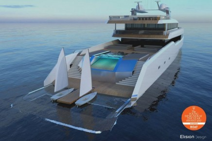 2017 Young Designer of the Year: Hearsay yacht by Eric Laurent