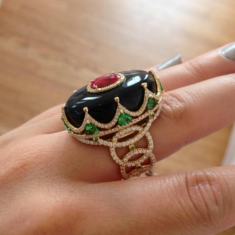 Erica Courtney Jewelry Royal Ring