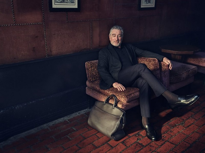 Ermenegildo Zegna Robert De Niro ad campaign 2017