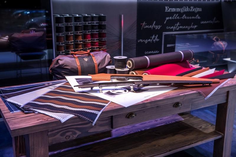 Ermenegildo Zegna Working Table Shanghai Auto Show 2019