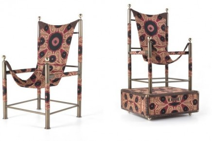 Etro launches its new Home Interiors line inspired by the nomadic spirit