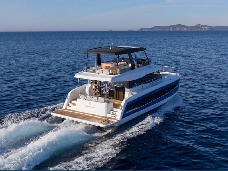 European Powerboat of the Year 2018 - Best boat up to 45 feet - Fountaine Pajot MY 44