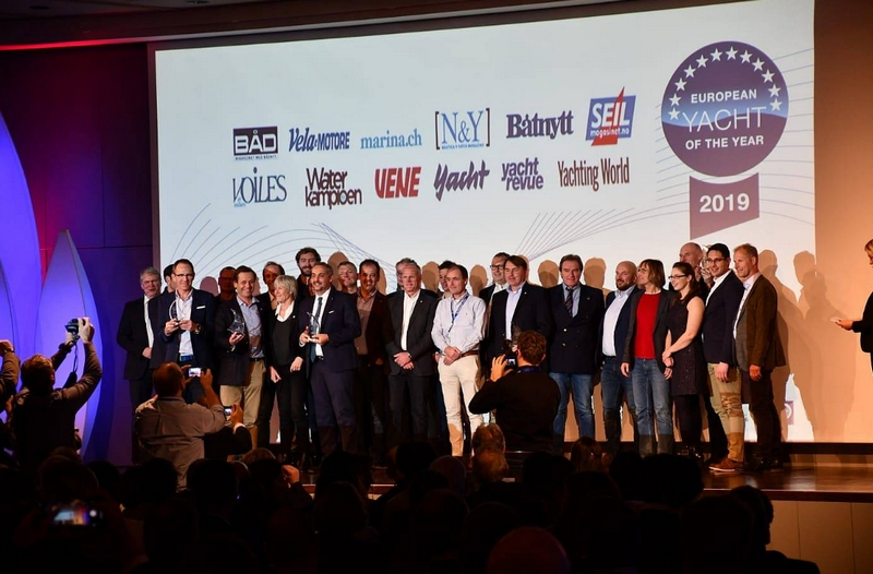 European Yacht of the Year 2019 ceremony