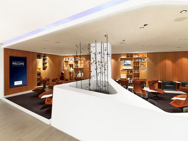 Europe's Leading Airport Lounge 2019 - THE LOFT by Brussels Airlines and Lexus-
