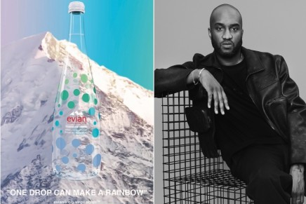 Virgil Abloh's One Drop Can Make A Rainbow: collectible items that expand our ways to hydrate