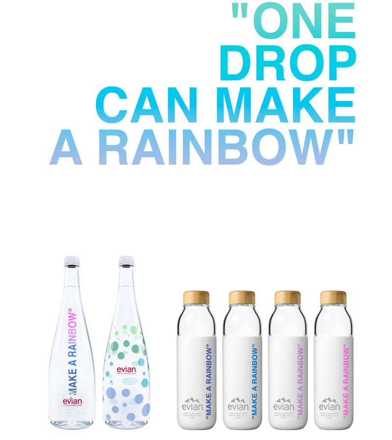 Evian presents One Drop Can Make A Rainbow by Virgil Abloh-2019-