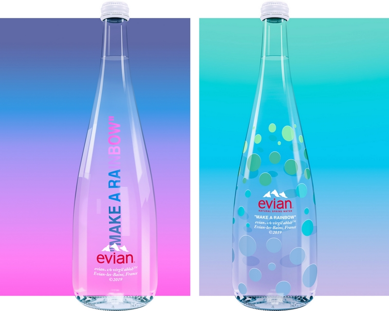 Evian presents One Drop Can Make A Rainbow by Virgil Abloh-2019