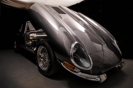 Evolution E-Type Roadster has all the sixties style, but with twenty-first century handling and comfort