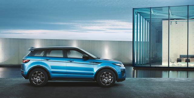 Evoque announced a new Moraine Blue Special Edition model-2017