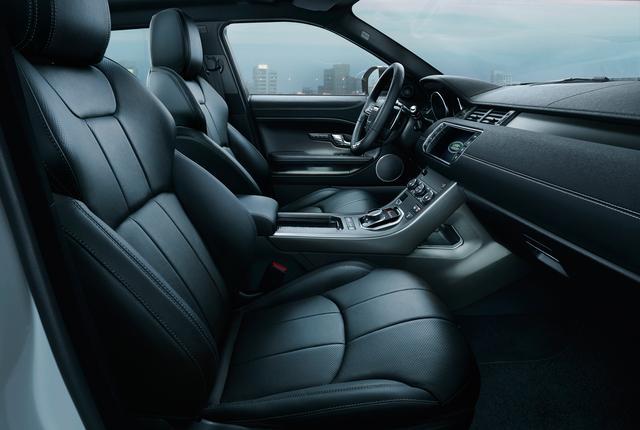 Evoque announced a new Moraine Blue Special Edition model-interior