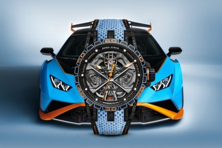 Excalibur Spider Huracán STO – a new hyperwatch based on the high-performance Lamborghini Huracán STO