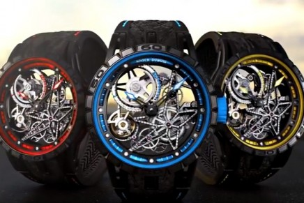 Dare to be rare: Excalibur Spider Pirelli timepieces are performed with winning motorsport rubber