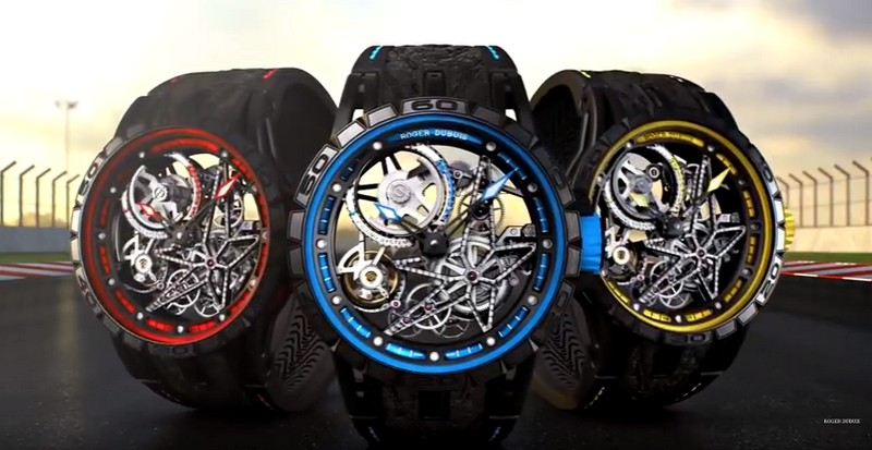 Excalibur Spider Pirelli colourful trio is here