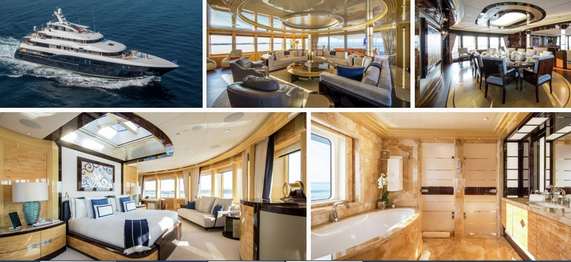Excellence V luxury yacht