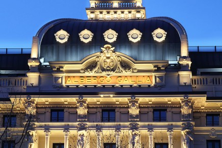 Milanese landmark Excelsior Hotel Gallia emerging from the all-encompassing renovation