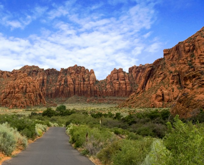 Exceptional geography for outdoor adventure - Santa Clara Utah