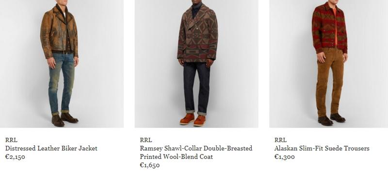 Exclusive capsule - Ralph Lauren's debut in menswear-