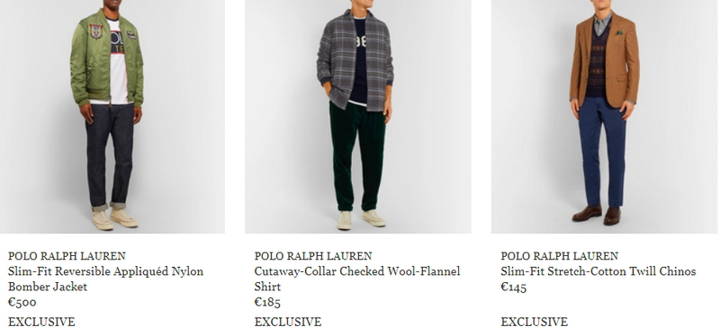 Exclusive capsule celebrates the 50th anniversary of Ralph Lauren's debut in menswear-