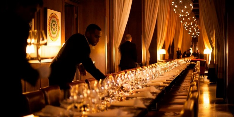 Exclusive dinner at CUT at 45 Park Lane, by Wolfgang Puck