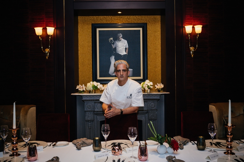 Executive Chef Yann Bernard Lejard of La Table Krug by Y