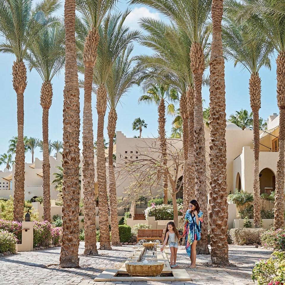 Explore Four Seasons Resort Sharm El Sheikh, Egypt's serene pathways