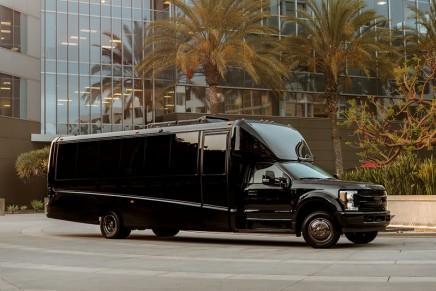 Luxury coaches: The $1 Million Executive Transporter