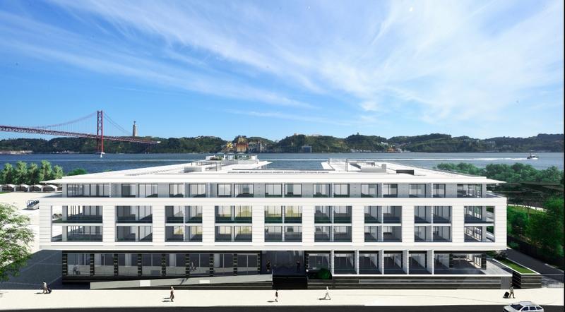 Exterior view of Hyatt Regency Lisbon