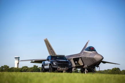 Collector's edition vehicles: This one-of-a-kind F-150 Raptor inspired by the F-22 fighter jet sells for $300,000