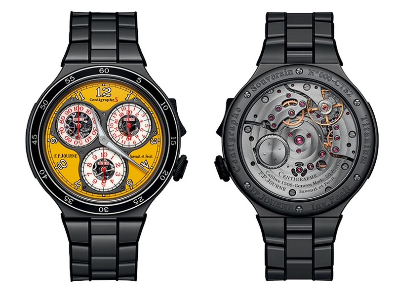 F.P.Journe introduces a new design for the Centigraphe Sport and the Octa Sport-2018