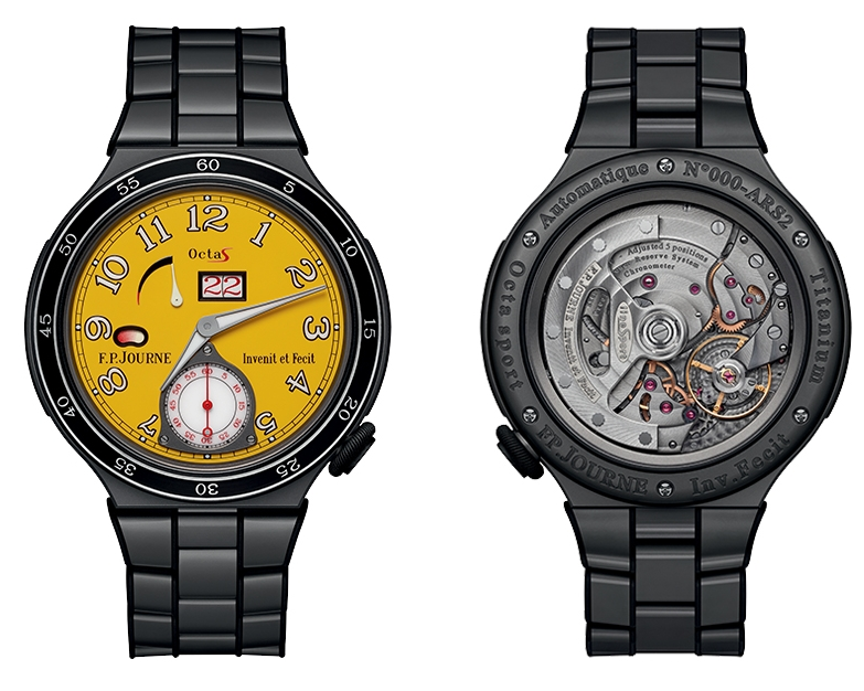 F.P.Journe introduces a new design for the Centigraphe Sport and the Octa Sport