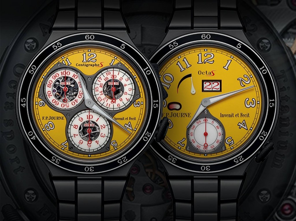 F.P.Journe presents the new design of the lineSport Centigraphe Sport and Octa Sport