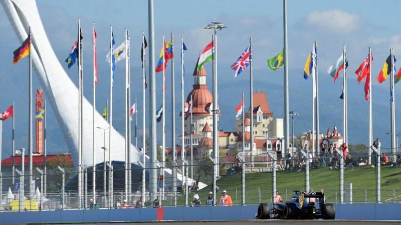 F1 Grand Prix Russia Sochi 2017-Sochi Autodrom