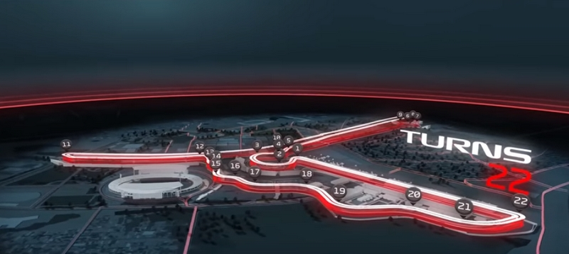F1 reveals track map for Hanoi street race in 2020