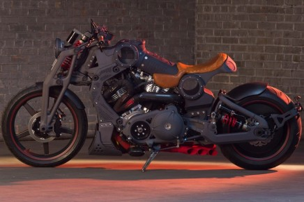 FA-13 Combat Bomber, the most powerful Confederate Motorcycle, unveiled at the Pebble Beach Quail Events
